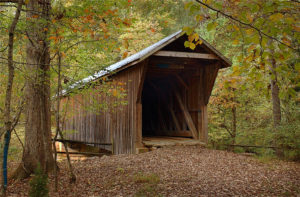Bunker Hill Covered Bridge Randolph County NC